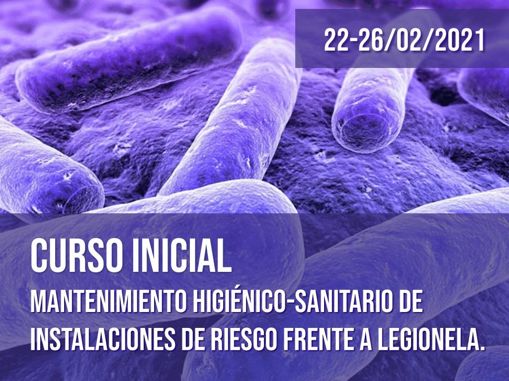 Curso Inicial Legionella 22 al 26 de febrero
